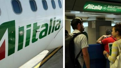 Photo of Alitalia 4,000 redundant, 200 pilots.  Ticket status: There is a solution