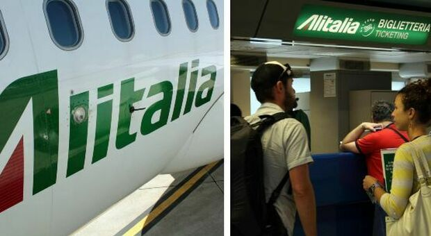 Alitalia 4,000 redundant, 200 pilots.  Ticket status: There is a solution