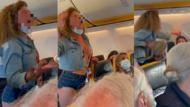 Photo of A passenger argues with everyone on board from Ibiza (video went viral)
