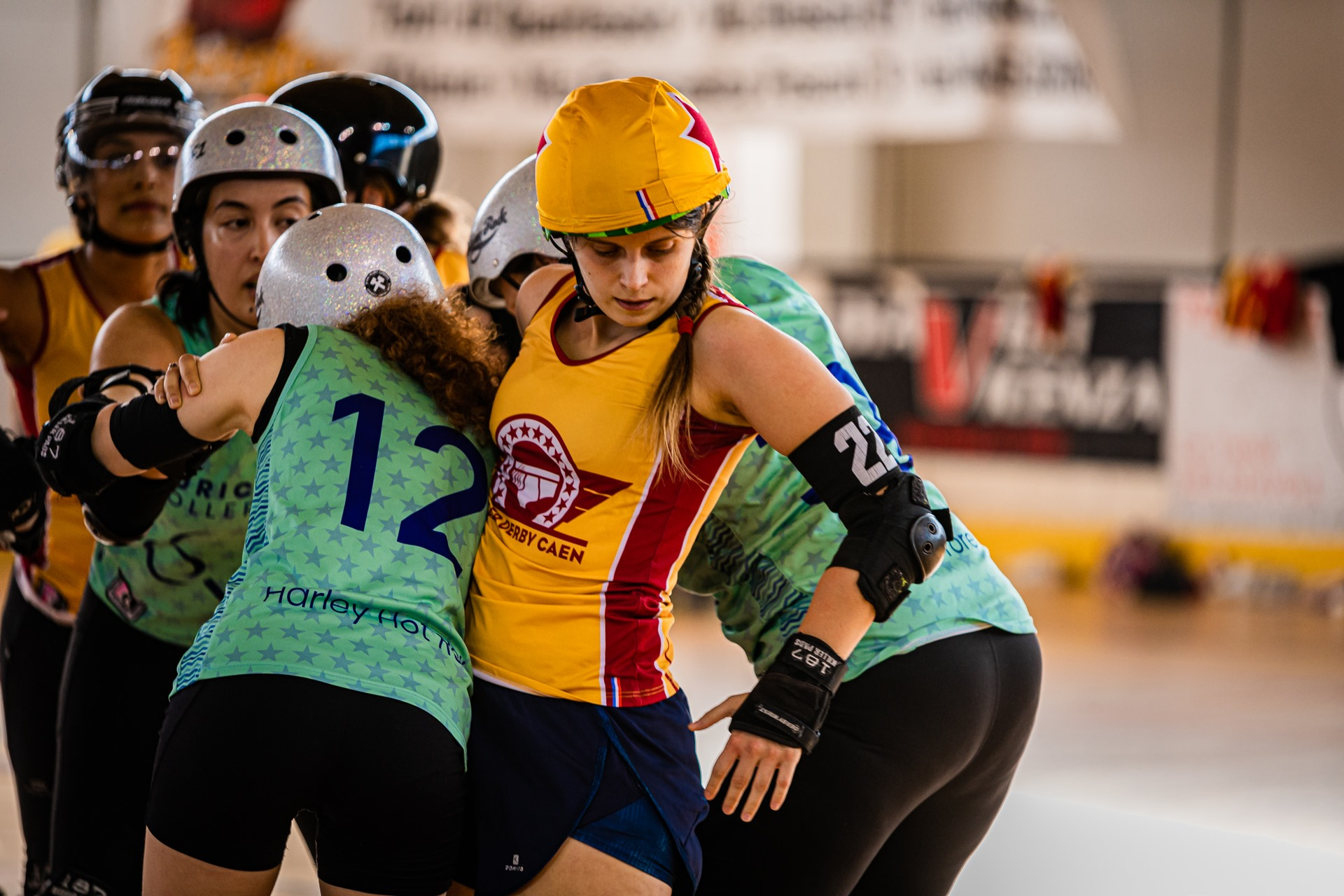 Roller Vicenza Derby stage of the game