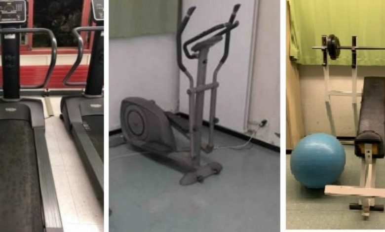 An auction for fitness enthusiasts