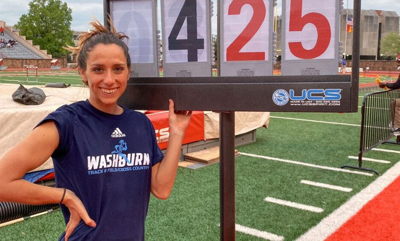 At the MIAA Outdoor Championship she won the match with 4.25