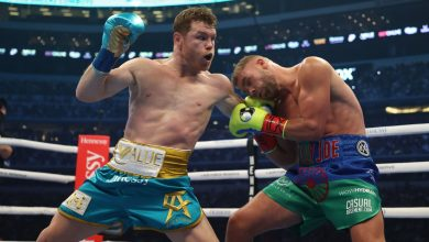 Photo of Boxing 'Canelo' Alvarez without hitches: beat Saunders by giving up at the end of the eighth round in front of 73,000 spectators – SPORT