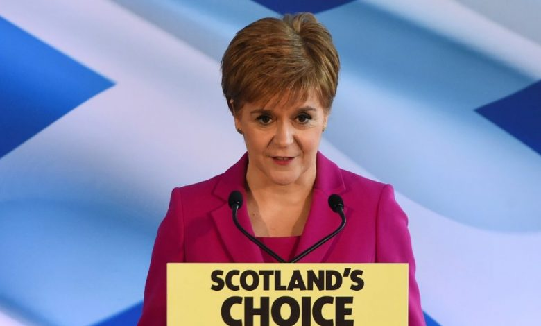Dreamed of elections in Scotland, with a new referendum on independence