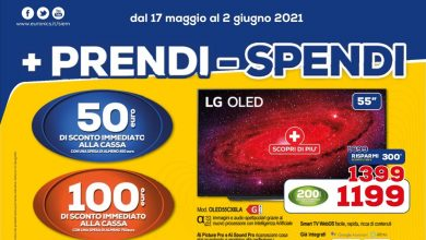 Photo of Euronics '+ Get – Spend' until June 2nd: instant discounts of up to € 300
