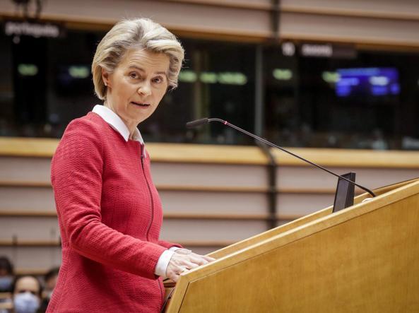 President of the European Commission, Ursula von der Leyen,