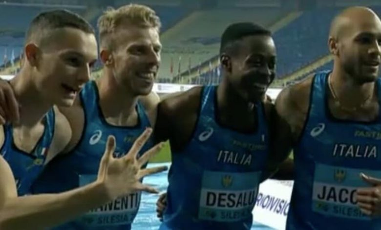It is wonderful Italy!  Five relays in the Tokyo Olympics