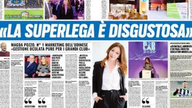 """Photo of Magda Pozzo Tutosport: """"disgusting Super League"""""""