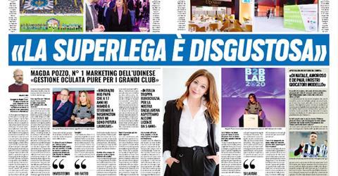 "Magda Pozzo Tutosport: ""disgusting Super League"""