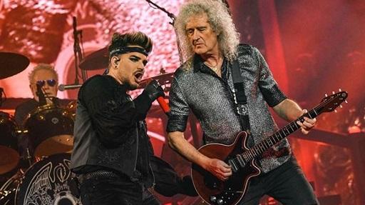 Queen con Adam Lambert