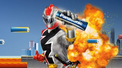 Photo of Run Panasonic to win a seat in the POWER RANGERS
