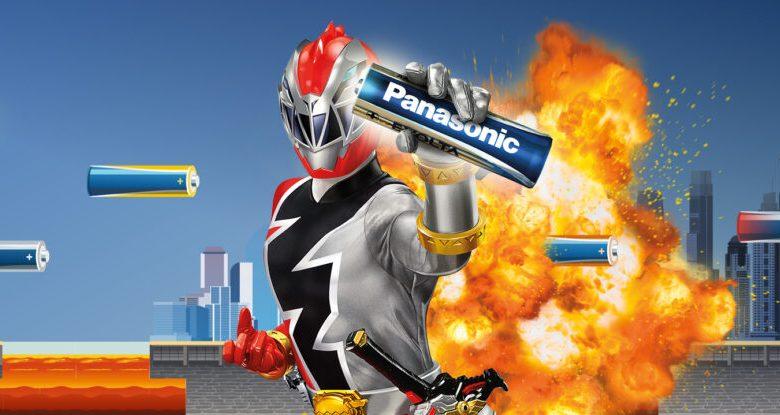 Run Panasonic to win a seat in the POWER RANGERS