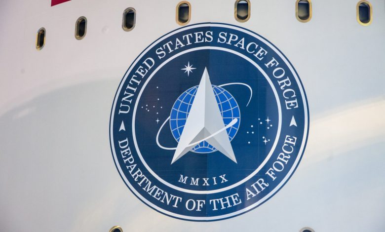 The US Space Force gets to work.  So