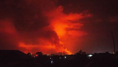 Photo of The eruption of Nyiragongo Volcano caused panic