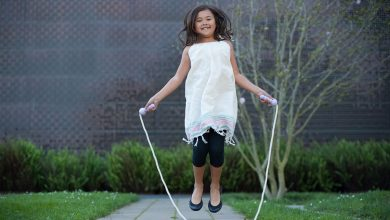 Photo of The exercise we did as children can help us stay in shape, that way we can easily learn to jump rope.