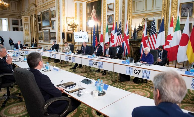 The G7 Financial Group is about to conclude an agreement on a global tax on multinational corporations