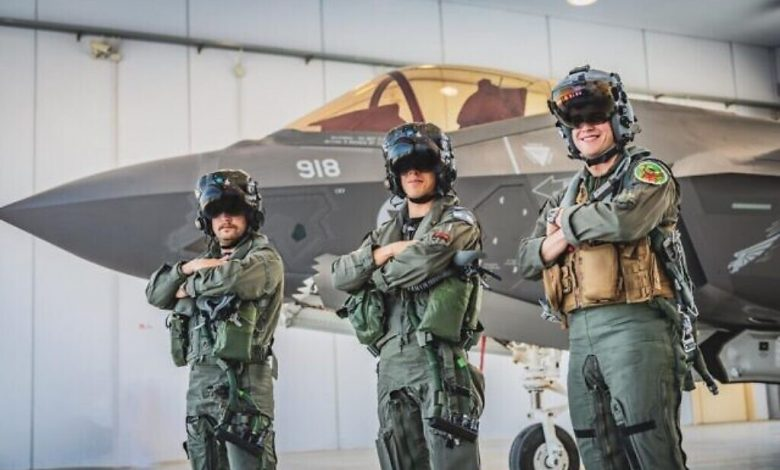 The Israeli Air Force is in Italy for training