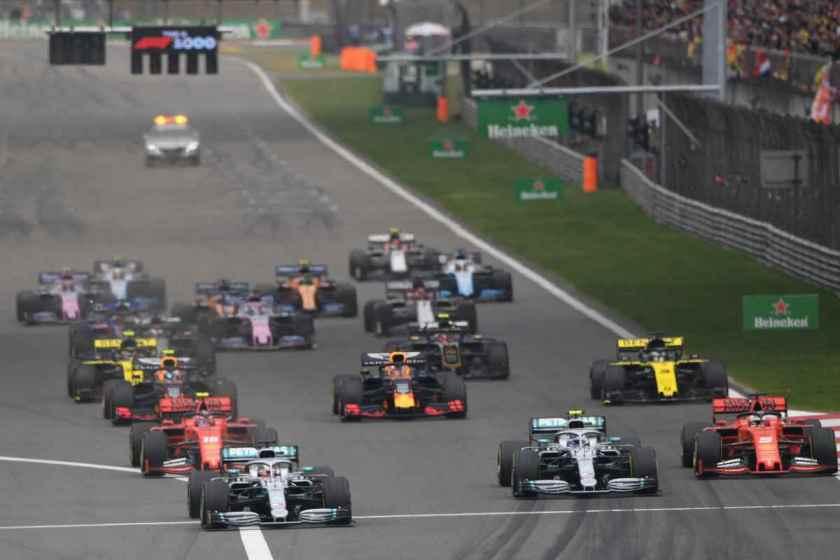 2021 F1 calendar circuits