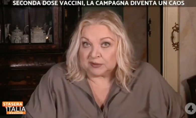 """""""A vaccine forever? So we're screwed"""" - Libero Quotidiano"""