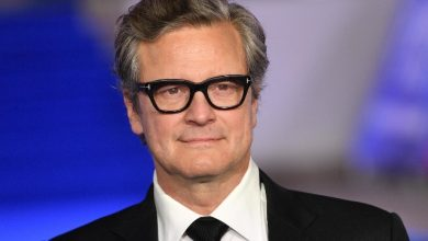 Photo of Colin Firth receives the European Silver Ribbon