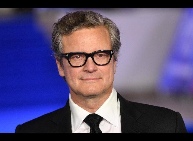 Colin Firth receives the European Silver Ribbon