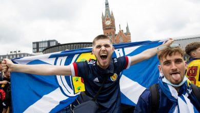 Photo of England – Scotland in the European Championship 2021, because Old Anime is much more than a football match