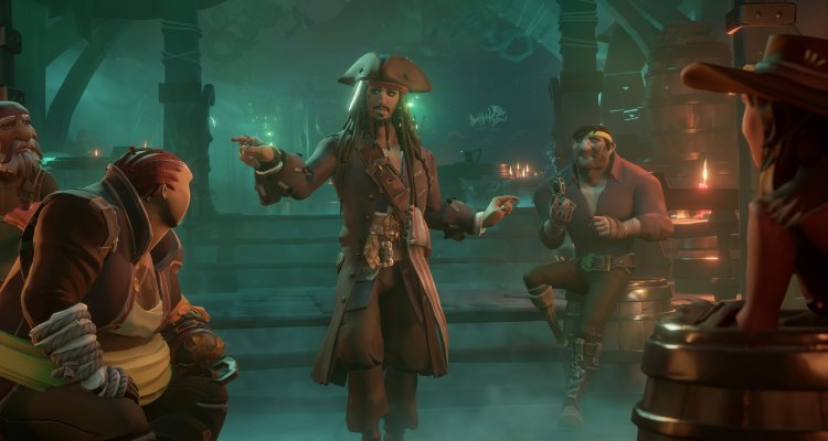 Will the Sea of Thieves also meet Monkey Island?  This is what Nader thinks about it - Nerd4.life