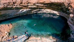 Oman has an underground beach created by