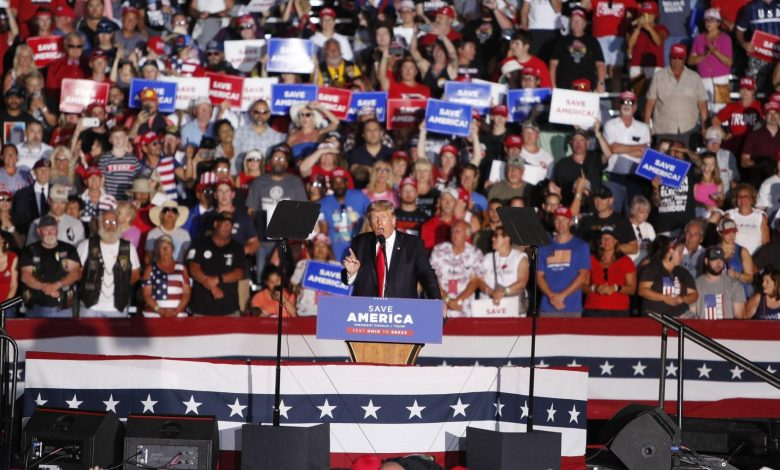"""Trump appears again in the United States, the first assembly after the defeat: """"I will return, we will return to the House and the Senate"""""""