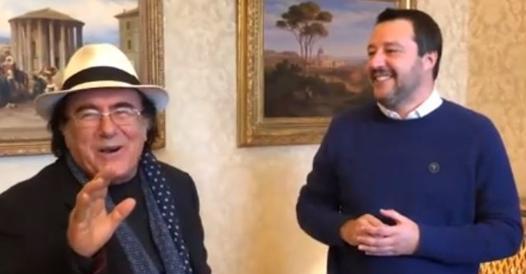 Al Bano invites Salvini to the World Judo Championship (with Urban and Putin) - Corriere.it