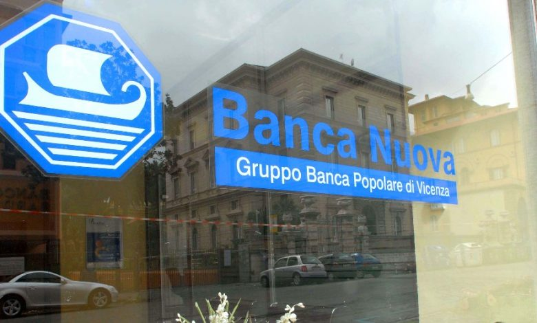 Banca Nuova, in Palermo, condemns four sentences to savers who bought Pop Vicenza shares to be compensated