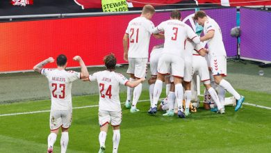 Photo of Europeans, Wales-Denmark 0-4: Dolberg, Mahely and Braithwaite drag the Nordic players into the quarter-finals.