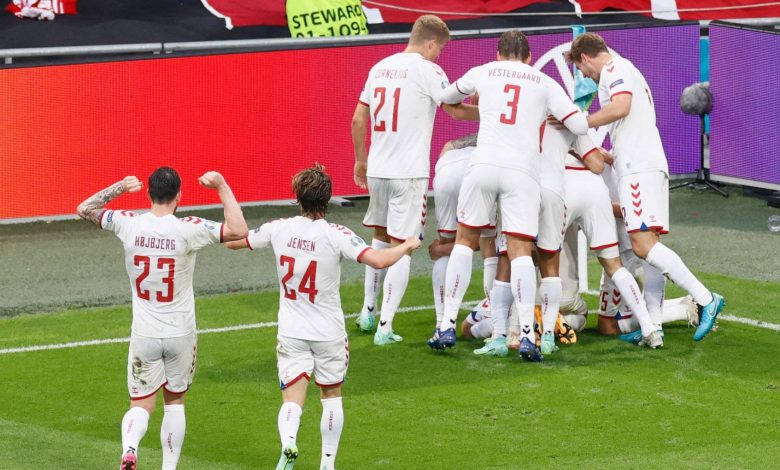 Europeans, Wales-Denmark 0-4: Dolberg, Mahely and Braithwaite drag the Nordic players into the quarter-finals.