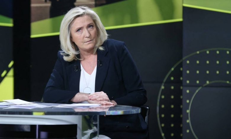 French elections and Republicans are waiting.  Marine Le Pen left empty handed