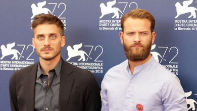 Photo of Luca Marinelli and Alessandro Borghi are back together