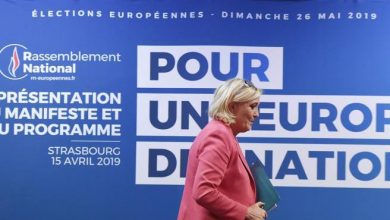Photo of Marine Le Pen no zone, redirect the new gollists- Corriere.it