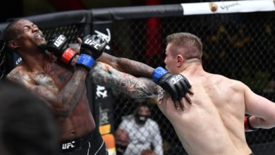 Photo of Marvin Vittori underestimated him before the title fight with Israel Adesanya