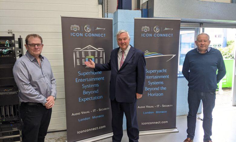 Mr. Oliver Heald visits Letchworth smart technology company