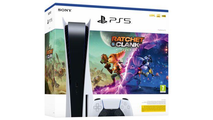 PlayStation 5 Ratchet and Clank Rift Apart 2 Bundle