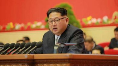 Photo of North Korea warning