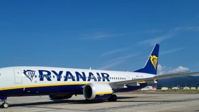 Photo of Quieter and less polluting: a new Ryanair aircraft in Orio al Serio