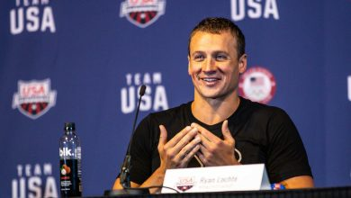 """Photo of Ryan Lochte confirms his willingness to continue swimming """"I'm not retiring"""""""