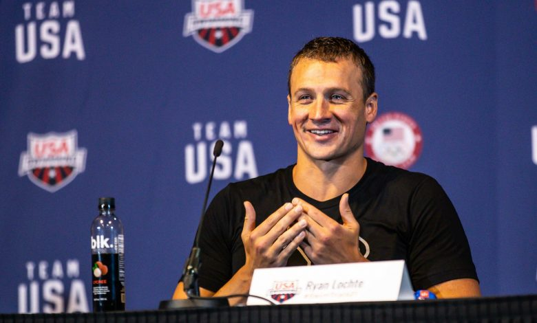 """Ryan Lochte confirms his willingness to continue swimming """"I'm not retiring"""""""