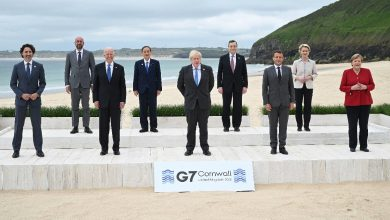 """Photo of The G7 Responds to China: A Global Infrastructure Plan for Poor Countries.  Draghi: """"We need a stronger organization against epidemics"""""""