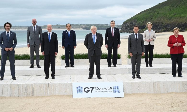 """The G7 Responds to China: A Global Infrastructure Plan for Poor Countries.  Draghi: """"We need a stronger organization against epidemics"""""""