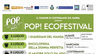 Photo of Pop Ecofestival in Costermano sul Garda between cinema and theater from 4 to 22 July 2021 Events in Verona