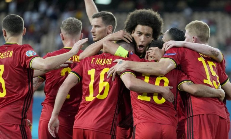 Belgium, divided on almost everything, united around the national team.  like Italy
