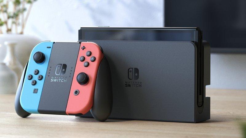 Nintendo Switch OLED Neon / Neon Blue