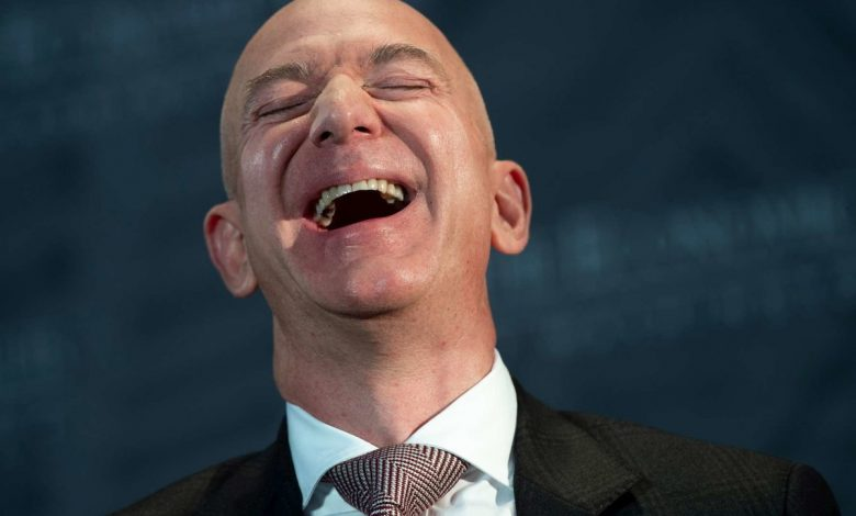 Amazon shares fly to Wall Street and Bezos earns 8 billion in 24 hours