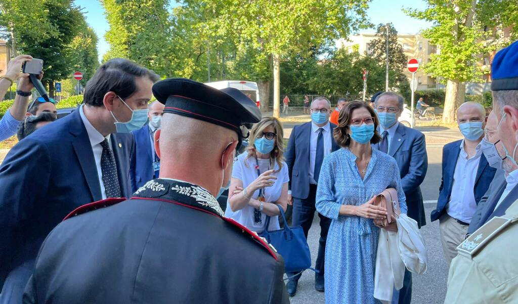 Minister Gilmini's visit to Piacenza